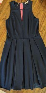 Navy Rebecca Taylor dress size 10